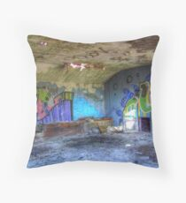 Colorful Walls Throw Pillow