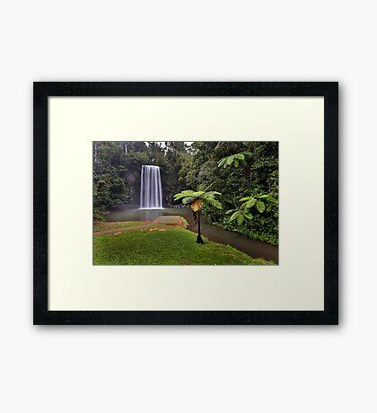 Milaa Milaa Falls... Framed Print