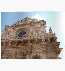 Basilica di Santa Croce, Lecce Poster