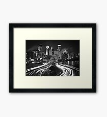 Black and Light Framed Print