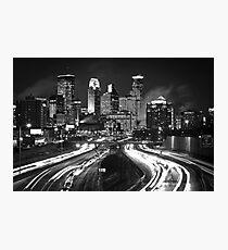 Black and Light Photographic Print