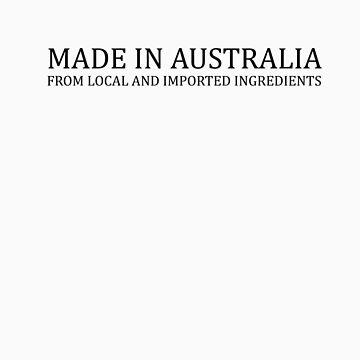 AUSTRALIAN MADE? black by adamantart