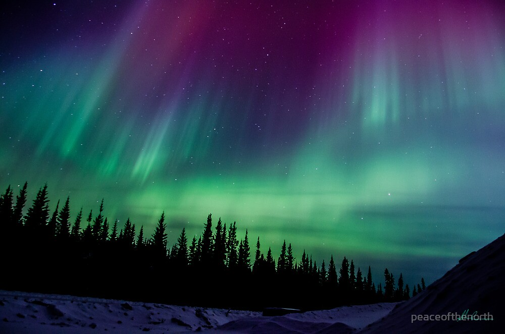 St Paddy's Day Auroras...#3 by peaceofthenorth