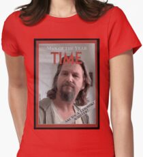The Dude - Time Magazine Man of the Year Womens Fitted T-Shirt