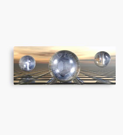 Three Spheres Canvas Print