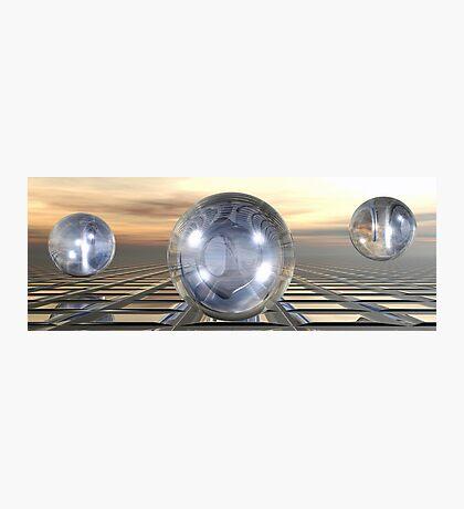 Three Spheres Photographic Print