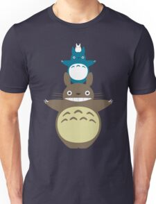 Totoro Totem with Detail Unisex T-Shirt