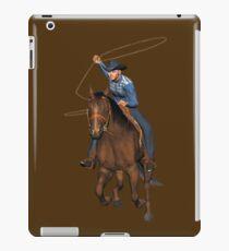 Cowboy Roper T_Shirt iPad Case/Skin
