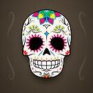 Sugar Skull Poster by hmx23