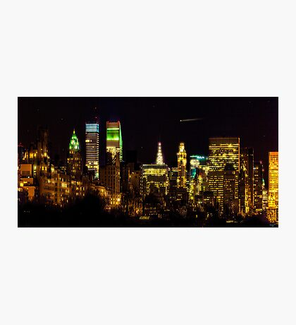 The East Side at Night Photographic Print