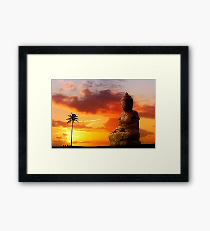 6:54 PM Hawaii Time Framed Print
