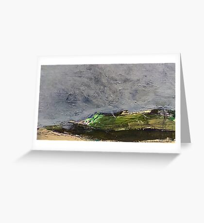 stormy moor Greeting Card