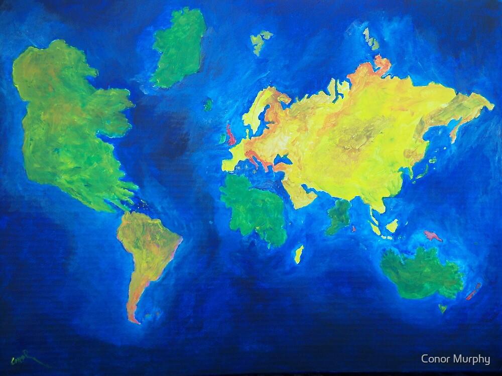 The world atlas according to the Irish by Conor Murphy