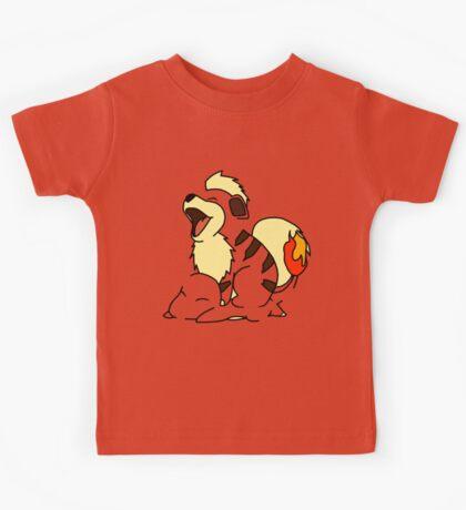 Growlithe Use Tackle! Kids Clothes