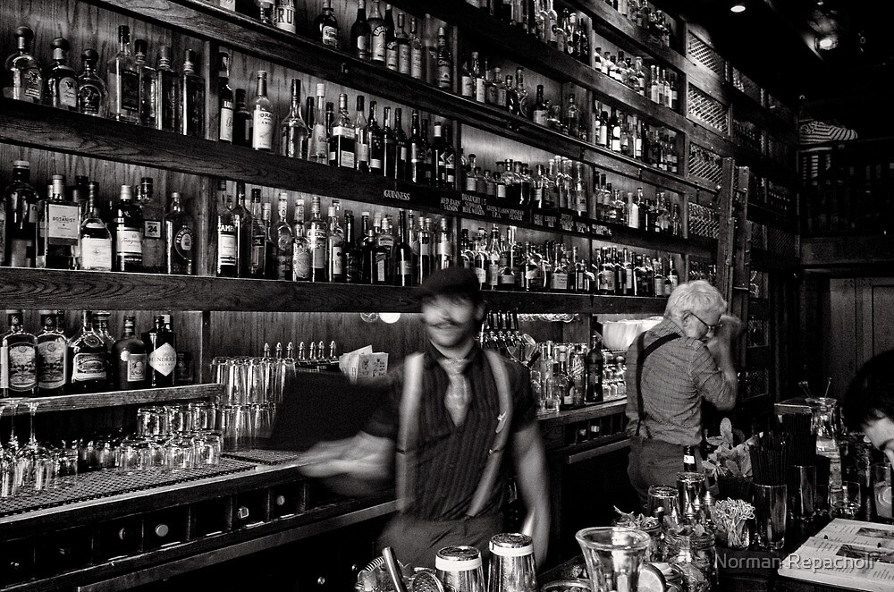 Spin you a drink - San Francisco - USA by Norman Repacholi