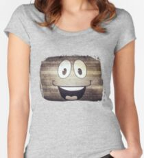 Yes Man  Women's Fitted Scoop T-Shirt