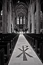 Pathway to Grace - Grace Cathedral - San Francisco - USA by Norman Repacholi
