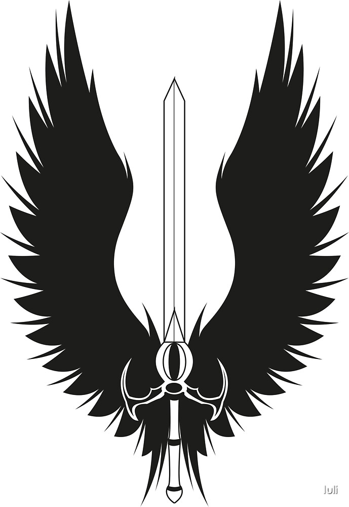 Quot Sword Wings Quot By Iuli Redbubble