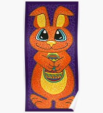 The Easter Bunny is here! Poster
