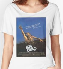 The Evil Dead Movie Poster Women's Relaxed Fit T-Shirt