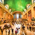 Grand Central Rush     (GO2) by Ray Warren