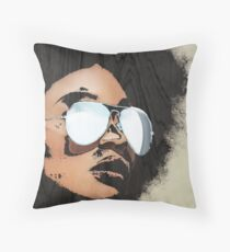 Venus Afro 02 Throw Pillow