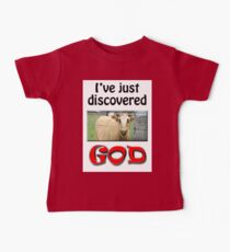 I JUST DISCOVERED GOD Kids Clothes