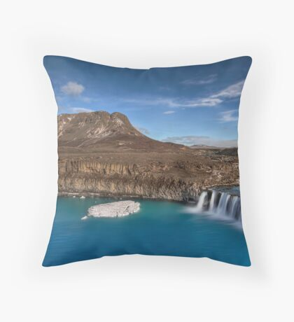 Serene Harmony Throw Pillow