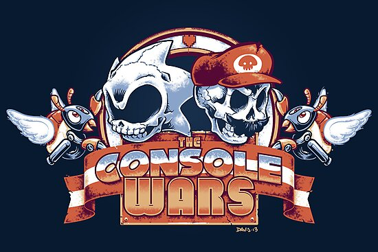 The Console Wars by Nathan Davis