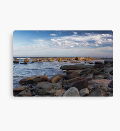 Rock Fishermen Canvas Print