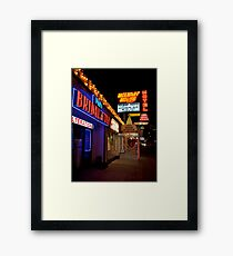 Vegas Bridal Framed Print
