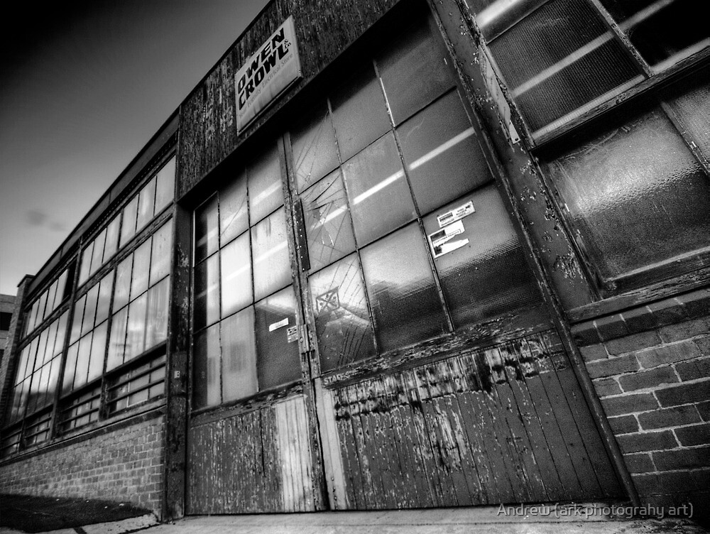Old Factory by Andrew (ark photograhy art)