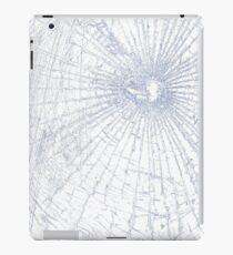 Broken Glass 2 iPad White iPad Case/Skin