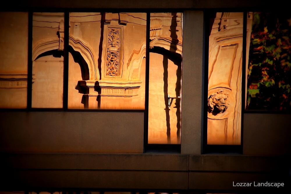 Reflections of A Bygone Era by Lozzar Landscape