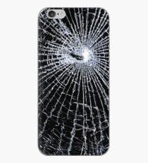 Broken Glass 2 iPhone Black iPhone Case
