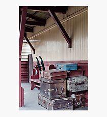 Luggage Photographic Print