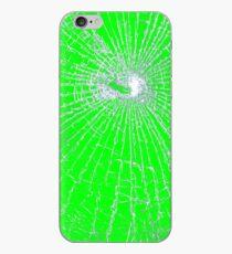 Broken Glass 2 iPhone Green iPhone Case
