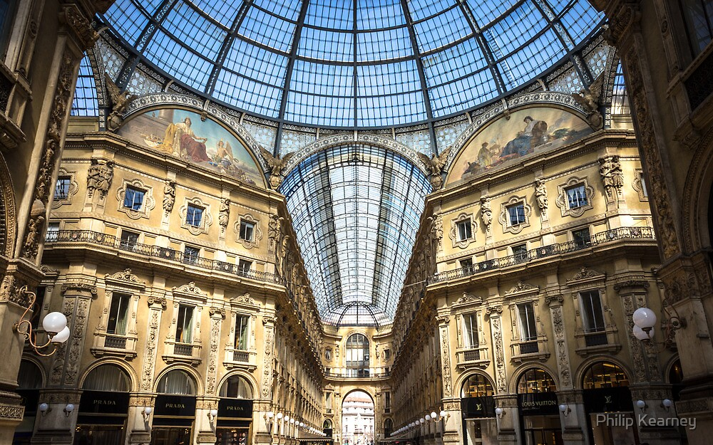 Galleria Vittorio Emanuele, Milan by Philip Kearney