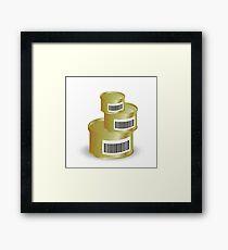canned food Framed Print