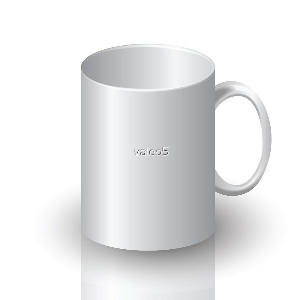white mug by valeo5