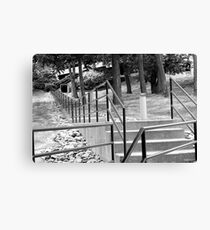 Stairway to sucess Canvas Print