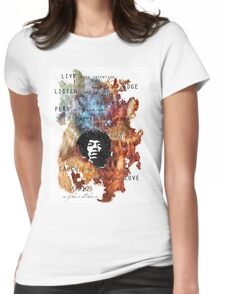 All just a blur Womens Fitted T-Shirt