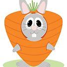 Carrot Bunny by EmilyListon4
