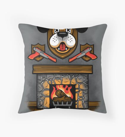 Who's Laughing Now? Throw Pillow