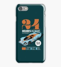 Le Mans Porsche 917 (dark) iPhone Case/Skin