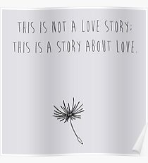 500 Days of Summer - Love Story Poster