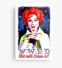 What would Endora? Bewitched. Agnes Moorehead. Samantha mother Metal Print