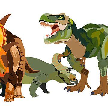 Dinosaurs by amynicolepalmer