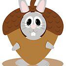 Acorn Bunny by EmilyListon4