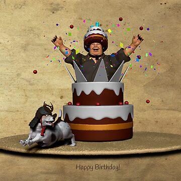 Birthday Cake by Rotund-San
